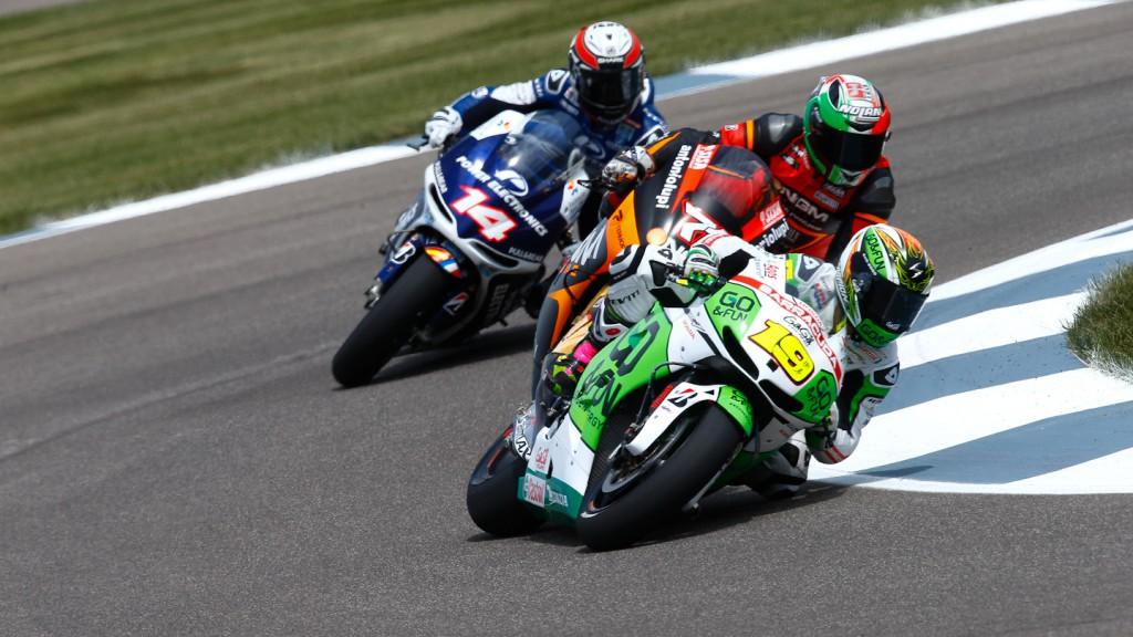 Alvaro Bautista, GO&FUN Honda Gresini, Indianapolis FP3