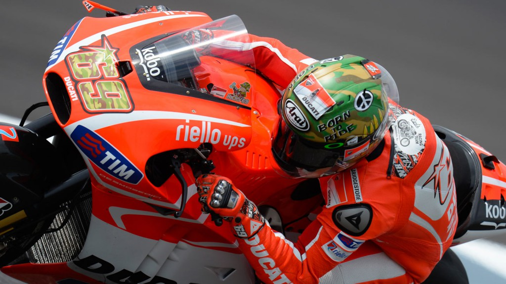 Nicky Hayden, Ducati Team, Indianapolis Q2