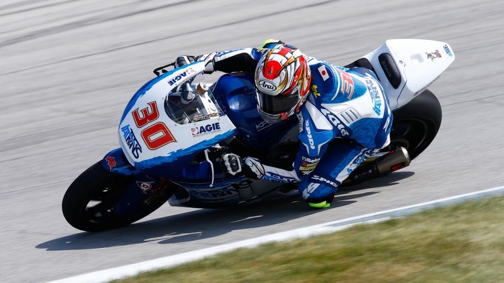 Takaaki Nakagami, Italtrans Racing Team, Indianapolis QP