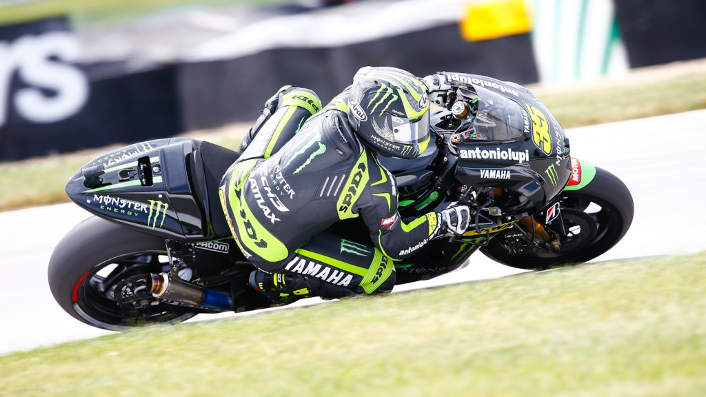 Cal Crutchlow, Monster Yamaha Tech 3, Indianapolis Q2
