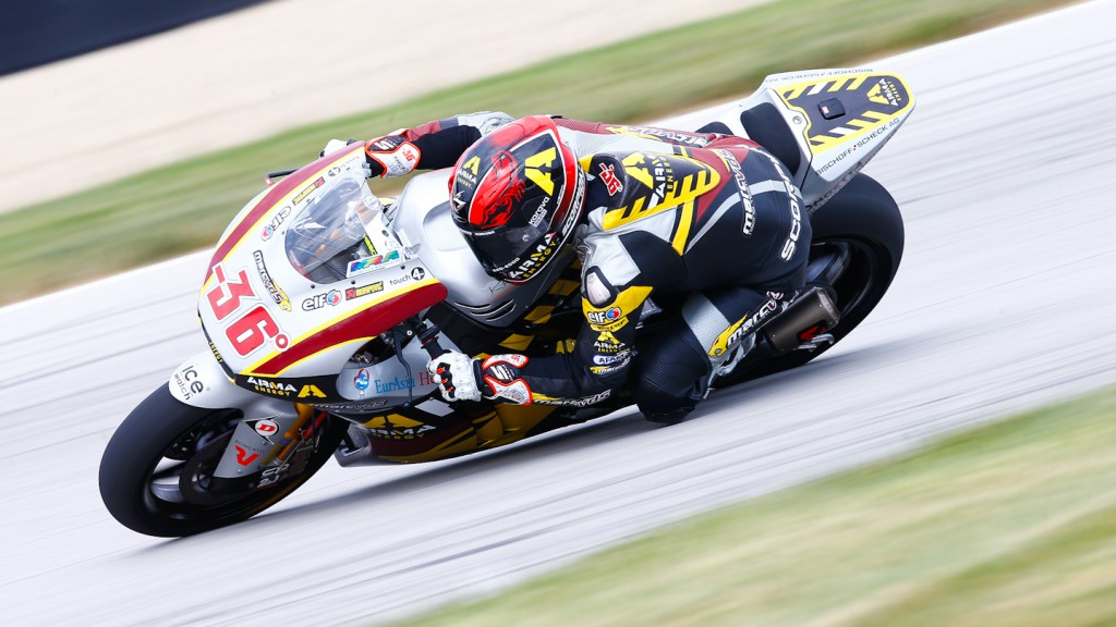 Mika Kallio, Marc VDS Racing Team, Indianapolis QP