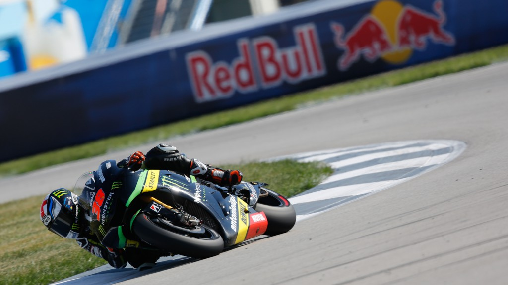 Bradley Smith, Monster Yamaha Tech 3, Indianapolis Q2