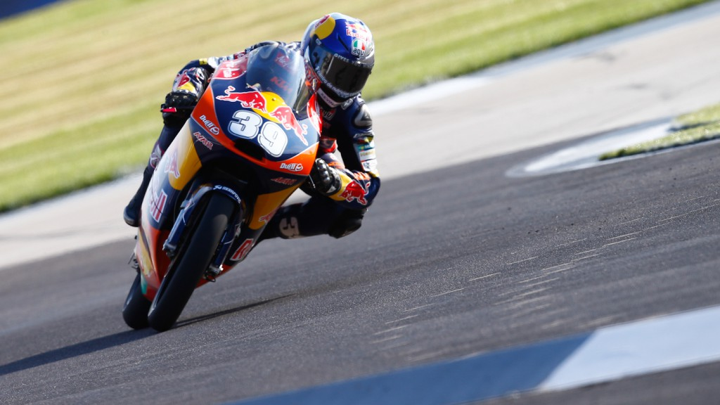 Luis Salom, Red BUll KTM Ajo, Indianapolis FP3