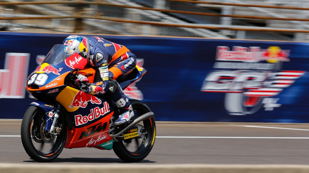 Luis Salom, Red BUll KTM Ajo, Indianapolis QP