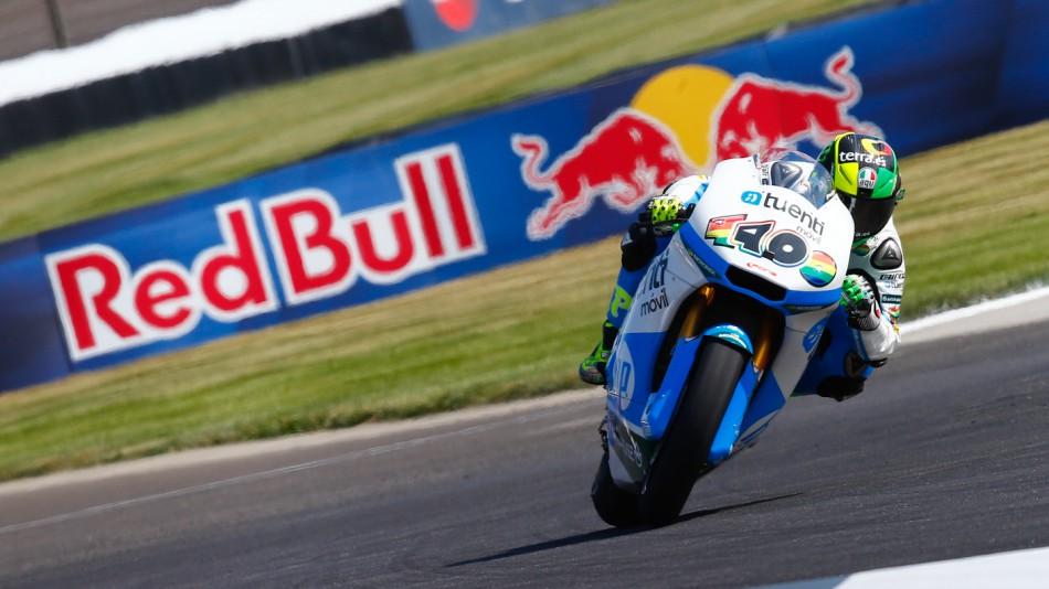 motogp.com · Pol Espargaro, Tuenti HP 40, Indianapolis FP3