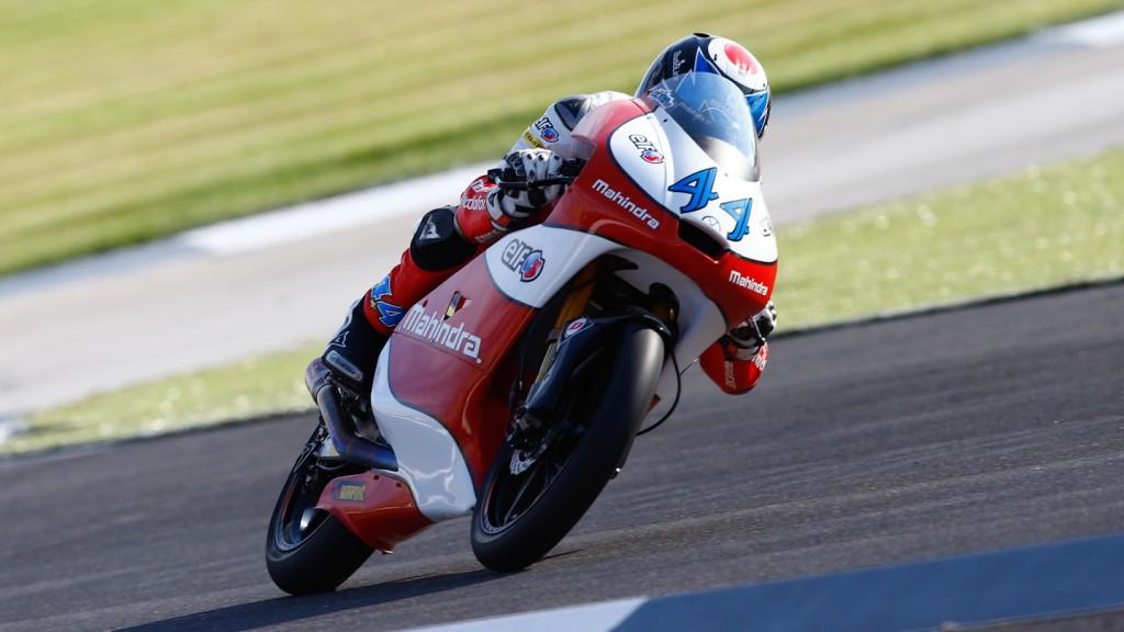 Miguel Oliveira, Mahindra Racing, QP