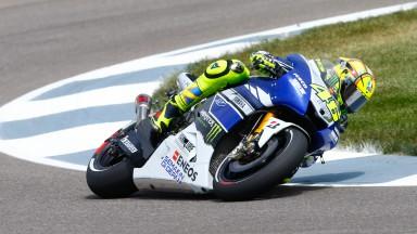 Valentino Rossi, Yamaha Factory Racing, Indianapolis FP3