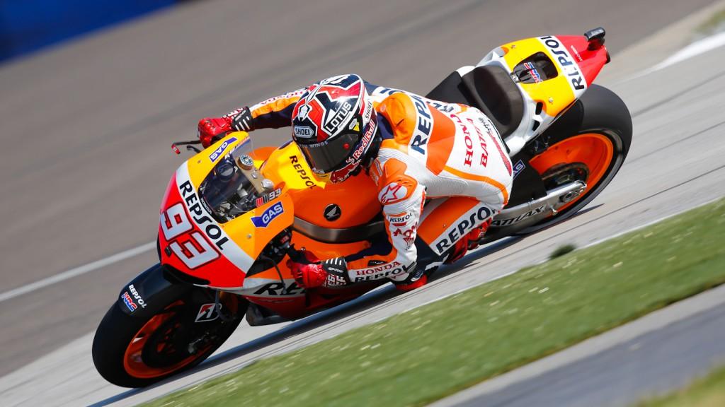 Marc Marquez, Repsol Honda Team, Indianapolis Q2