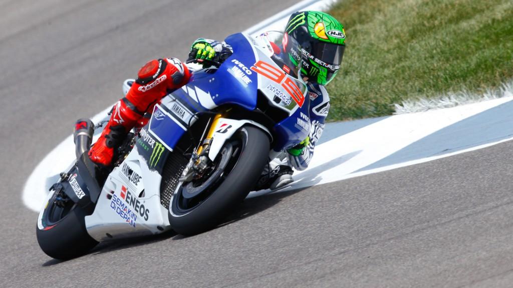 Jorge Lorenzo, Yamaha Factory Racing, Indianapolis Q2