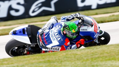 Jorge Lorenzo, Yamaha Factory Racing, Indianapolis FP3