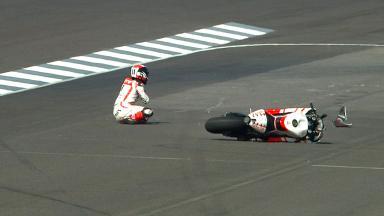 Indianapolis 2013 - MotoGP - FP3 - Action - Ben Spies - Crash