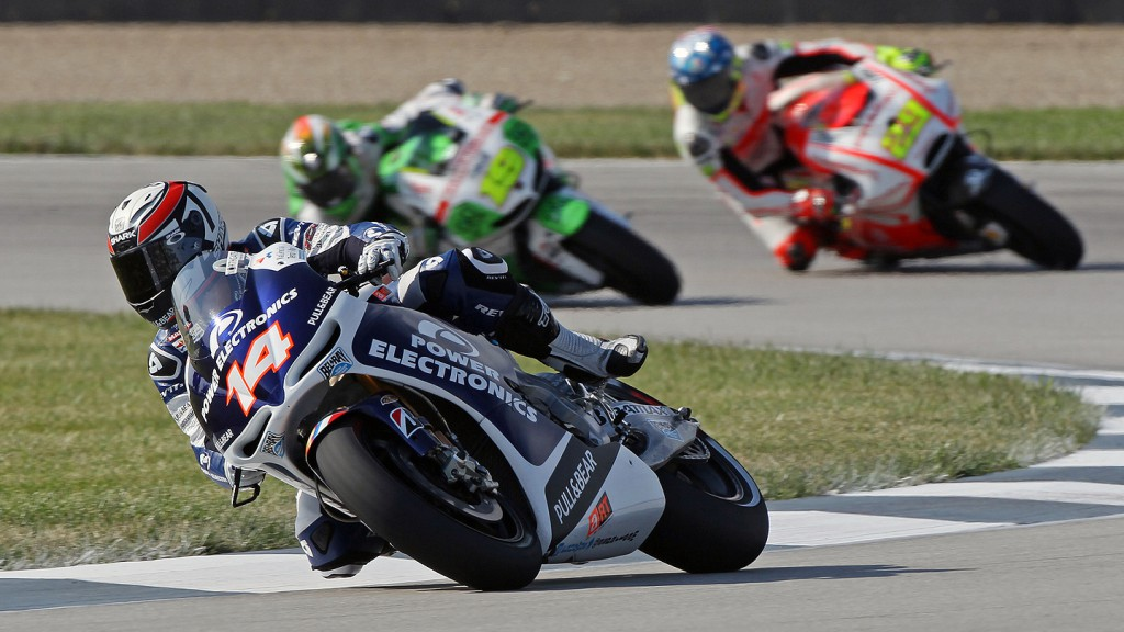 Randy De Puniet, Power Electronics Aspar, Indianapolis FP4