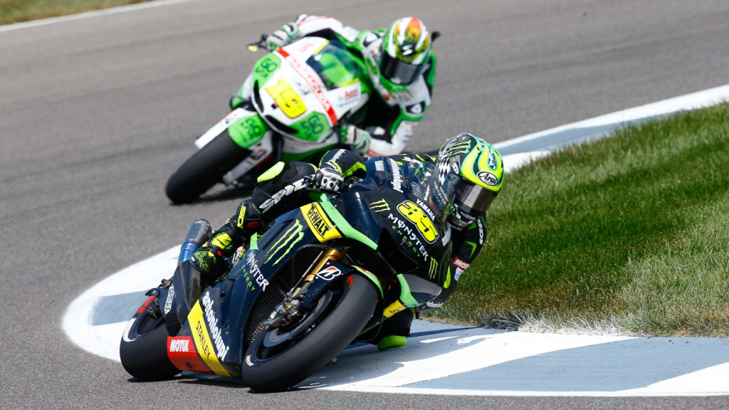 Cal Crutchlow, Monster Yamaha Tech 3, Indianapolis RAC