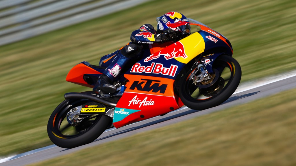 Luis Salom, Red Bull KTM Ajo, Indianapolis RAC