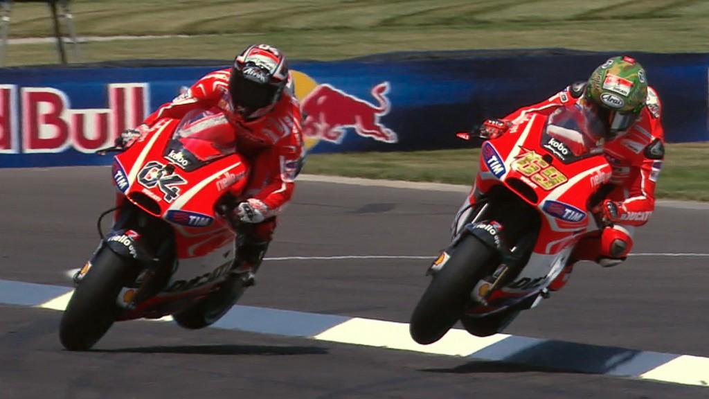 Dovizioso, Hayden, Ducati Team, Indianapolis RAC