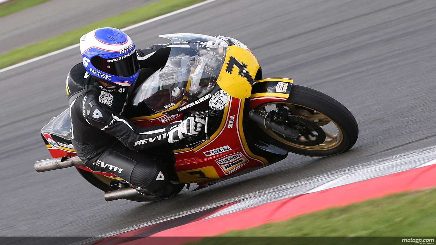 motogp.com · Barry Sheene Tribute Lap at Silverstone