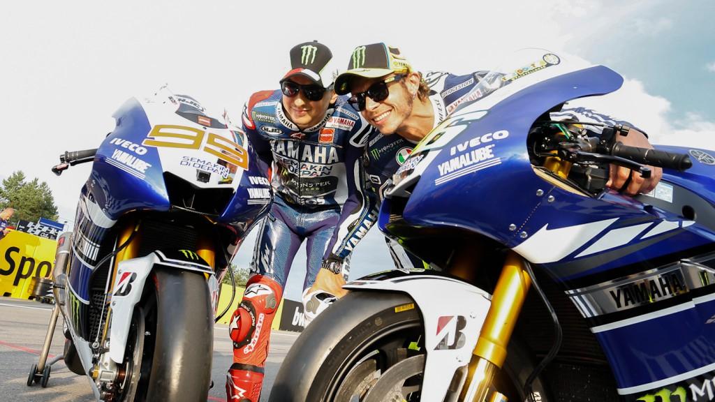 Jorge Lorenzo, Valentino Rossi, Yamaha Factory Racing, Brno