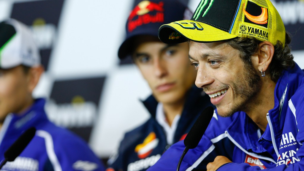 Valentino Rossi, Yamaha Factory Racing, Brno Press Conference
