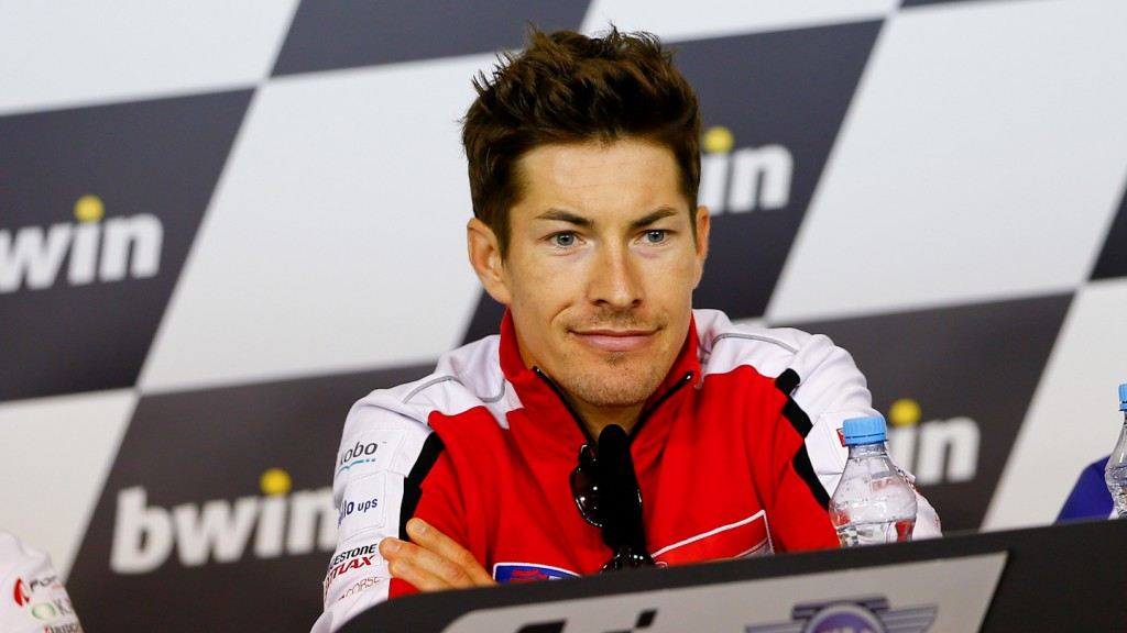 Nicky Hayden, Ducati Team, Brno Press Conference