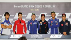 bwin Grand Prix Ceske Repuliky Press Conference, Brno
