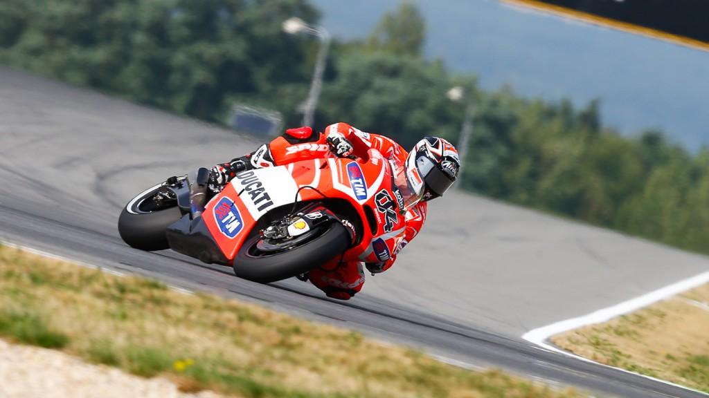 Andrea Dovizioso, Ducati Team, Brno FP2