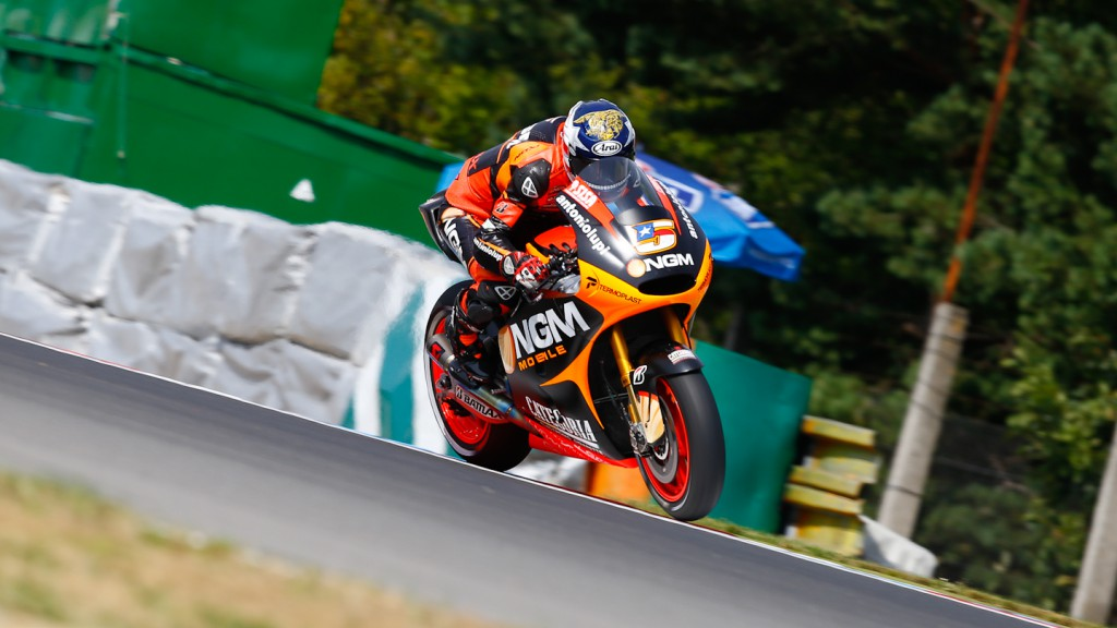 Colin Edwards, NGM Mobile Forward Racing, Brno FP2