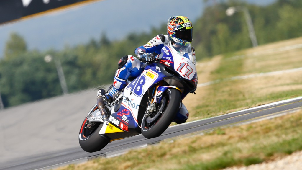 Karel Abraham, Cardion AB Motoracing, Brno FP2