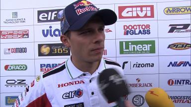 Bradl quickest but not expecting easy weekend