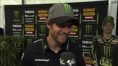 Crutchlow struggling with new fuel tank