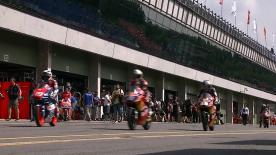 Maverick Viñales gab in beiden Trainingssitzungen am Freitag in Brünnbeim bwin Grand Prix České Republik das Tempo vor. Der Team Calvo-Fahrer führte die Sitzung vor Estrella Galicia 0,0-Pilot Alex Márquez und Red Bull KTM Ajo-Pilot Luis Salom an.