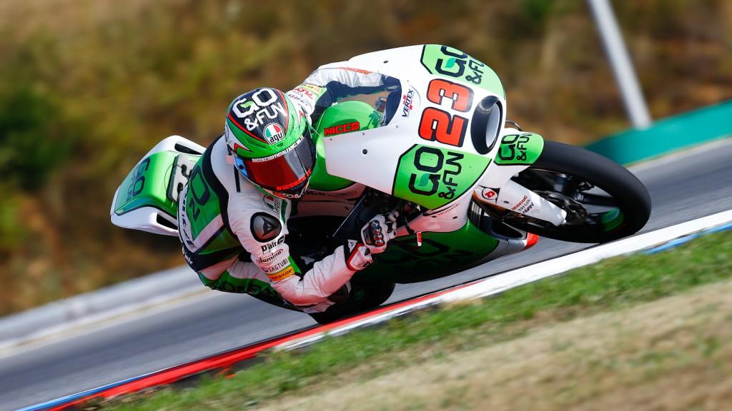 Antonelli Niccolò, GO&FUN Gresini Moto3, Brno FP2