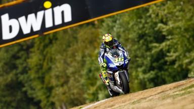 Valentino Rossi, Yamaha Factory Racing, Brno FP2