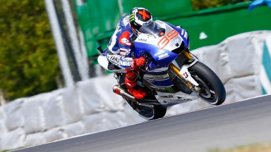 Jorge Lorenzo, Yamaha Factory Racing, Brno FP1