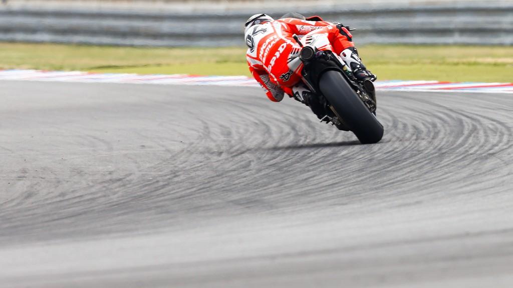 Andrea Dovizioso, Ducati Team, Brno Q2