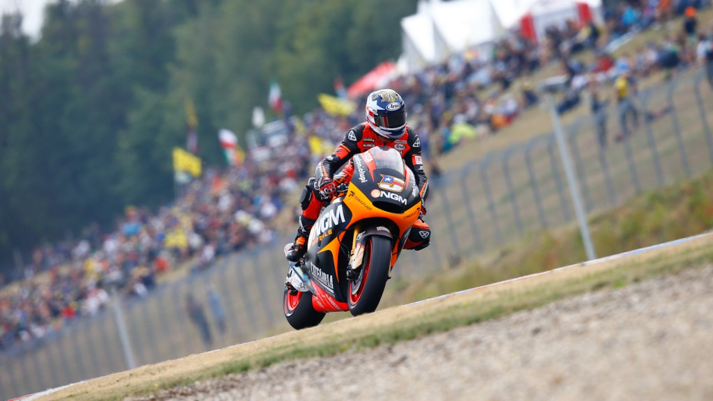 Colin Edwards, NGM Mobile Forward Racing, Brno Q2