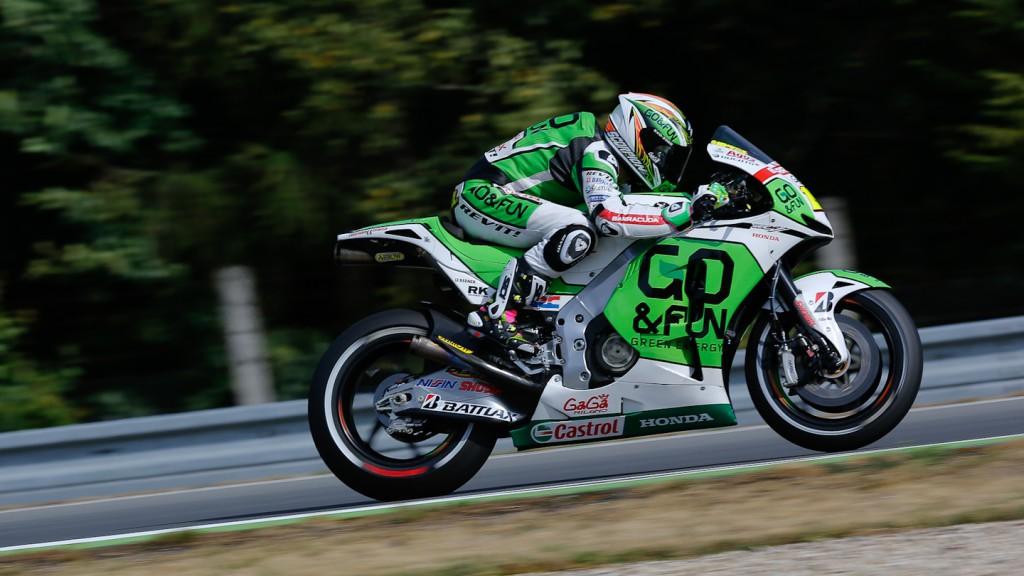 Alvaro Bautista, GO&FUN Honda Gresini, Brno Q2