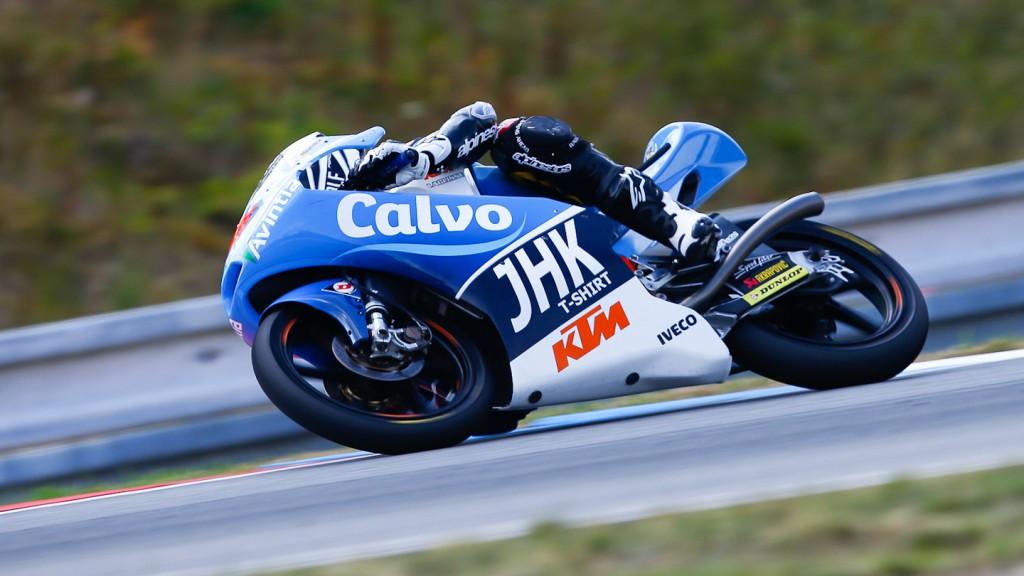 Maverick Viñales, Team Calvo, Brno QP