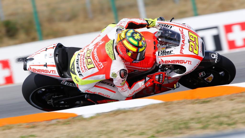 Andrea Iannone, Pramac Racing Team, Brno Q2