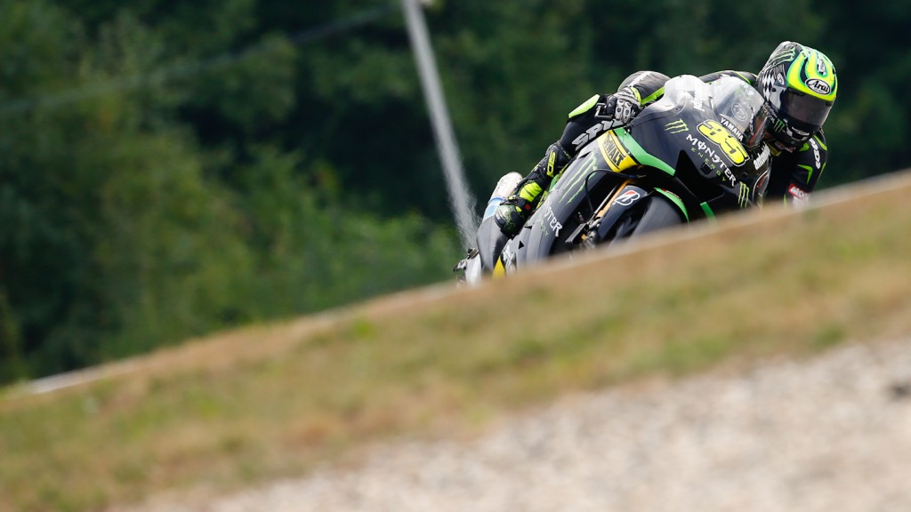 Cal Crutchlow, Monster Yamaha Tech 3, Brno Q2