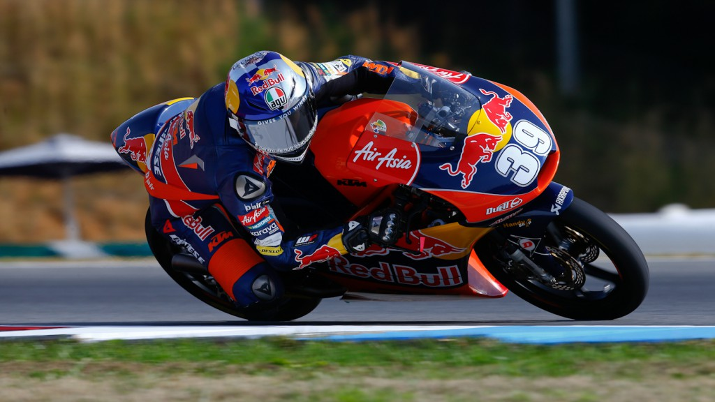 Luis Salom, Red Bull KTM Ajo, Brno FP3