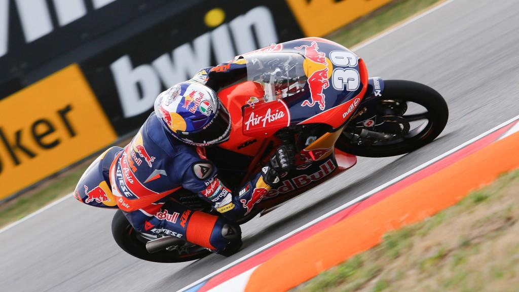 Luis Salom, Red Bull KTM Ajo, Brno QP