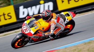Marc Marquez, Repsol Honda Team, Brno Q2