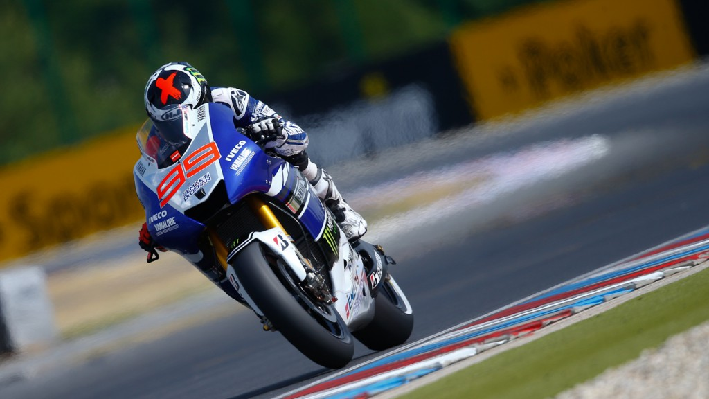 Jorge Lorenzo, Yamaha Factory Racing, Brno Q2