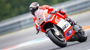 Andrea Dovizioso, Ducati Team, Brno RAC
