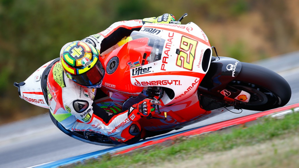 Andrea Iannone, Pramac Racing Team, Brno RAC
