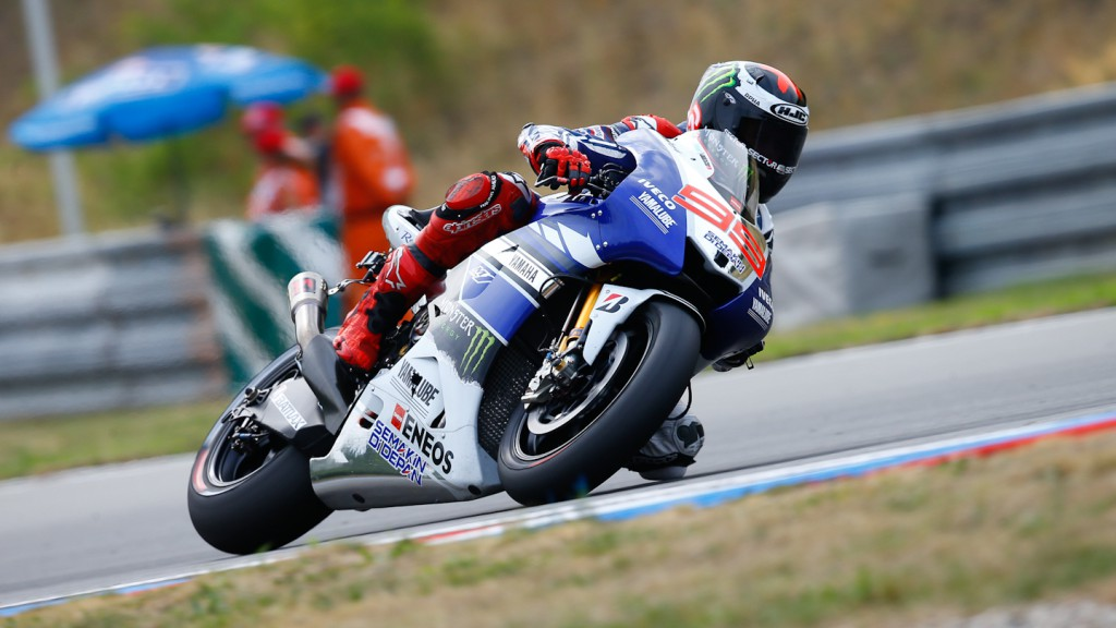 Jorge Lorenzo, Yamaha Factory Racing, Brno WUP