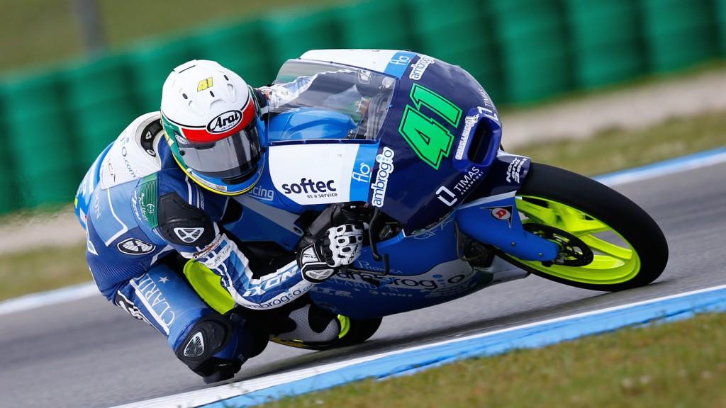 Brad Binder, Ambrogio Racing.