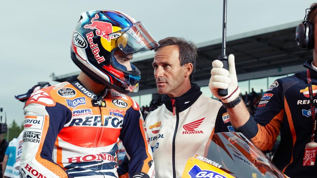 Dani Pedrosa, Alberto Puig, Repsol Honda Team, Brno RAC - © Copyright Alex Chailan & David Piolé