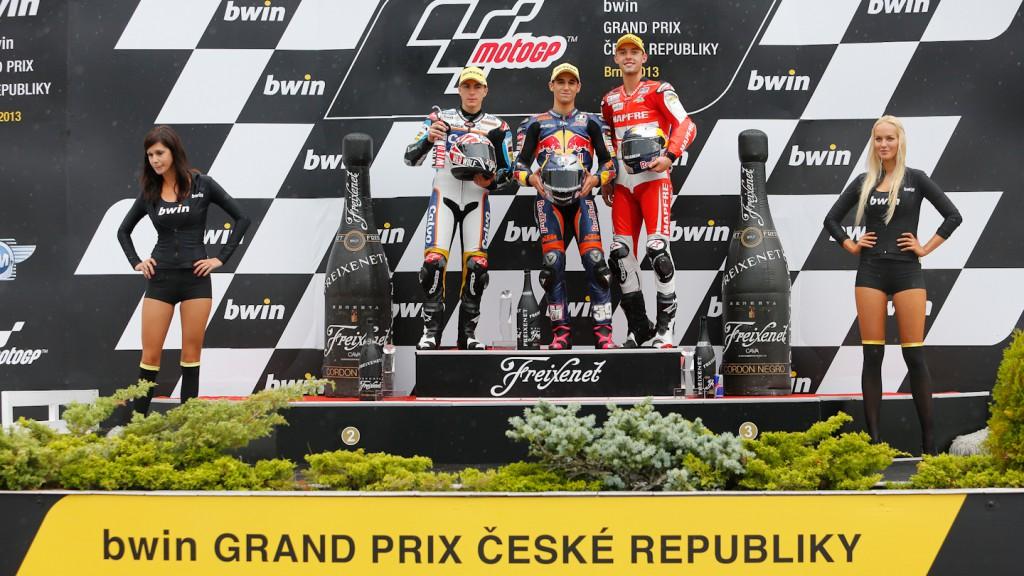 Viñales, Salom Folger, Team Calvo, Red Bull KTM Ajo, Mapfre Aspar Team Moto3, Brno RAC