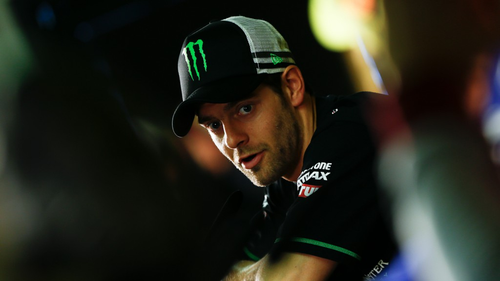 Crutchlow, Monster Yamaha Tech 3, Hertz British Grand Prix